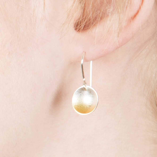 Electra Small Drop Gold Earrings