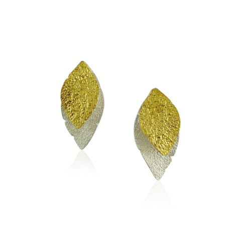 Vermeil Liquid Gold Dangle Earrings