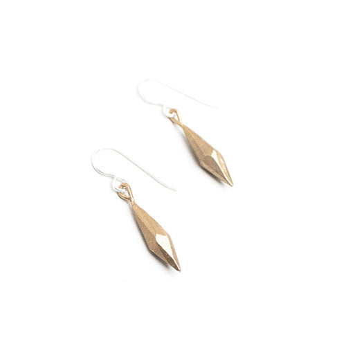 Raw Crystal Dangle Earrings