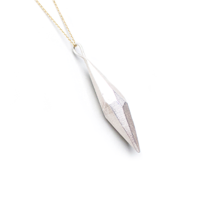 Raw Crystal Pendant - L