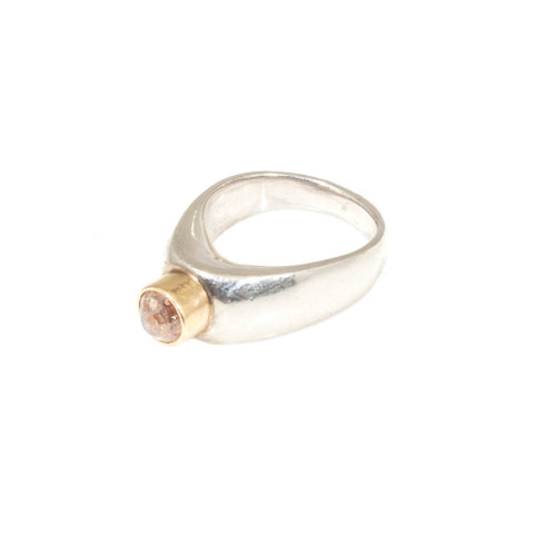 Spire Gold Diamond Ring