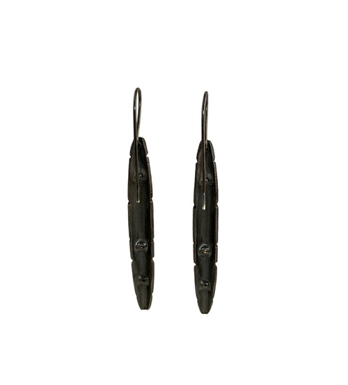 San Andreas Spire Diamond Drop Earrings