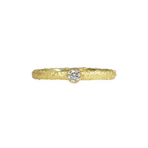 Alaria Band with diamonds