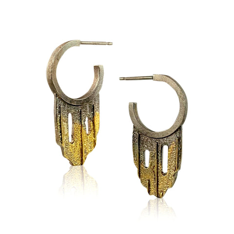 Shimmer Triple Earrings