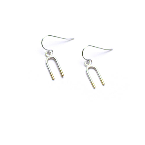 Tuning Fork Earrings - M