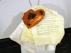 Love Letters In Over-Sized Heart Lockets
