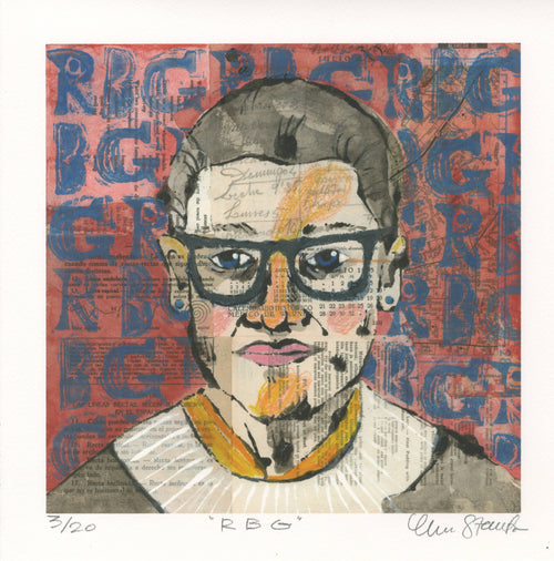 RBG Limited Edition signed print
