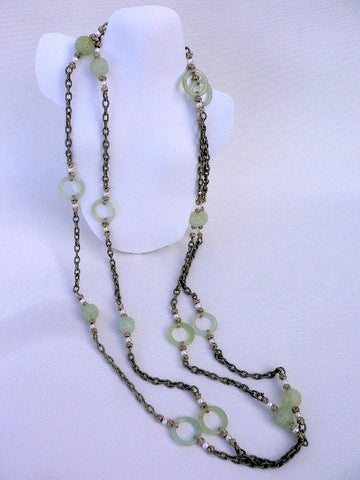 Vintage Lucite Necklace