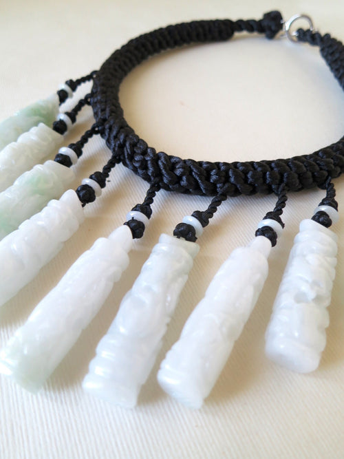 Natural Burmese Jade Necklace