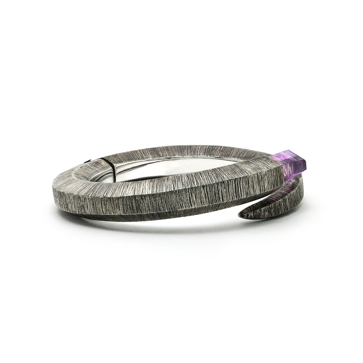 Folding Light Bracelet with Amethyst