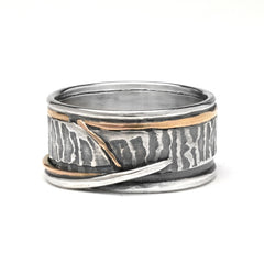 Fossil Wedding Band - Lireille