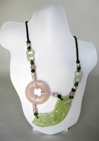 Freshwater Pearls Tassel Necklace