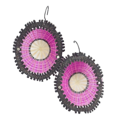 Hot Pink Earring Volcan