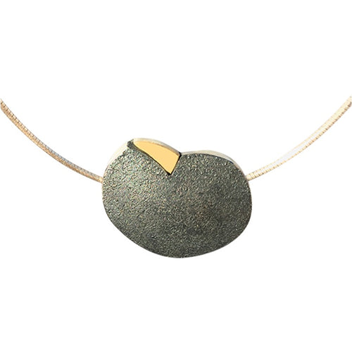 Beach Stone Heart Necklace