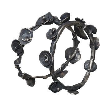 Industrial Flower Bangle