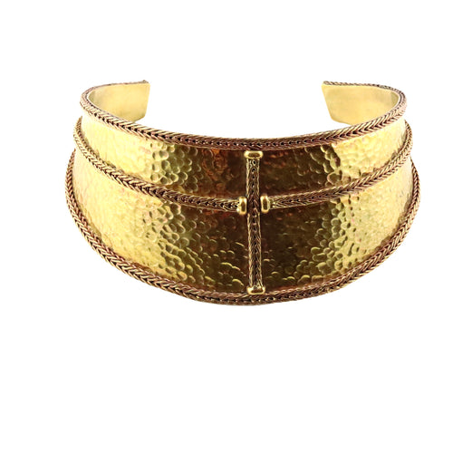 Brass Collar Necklace