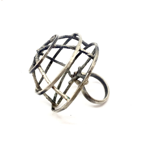 Bird's Nest Ring and Pendant