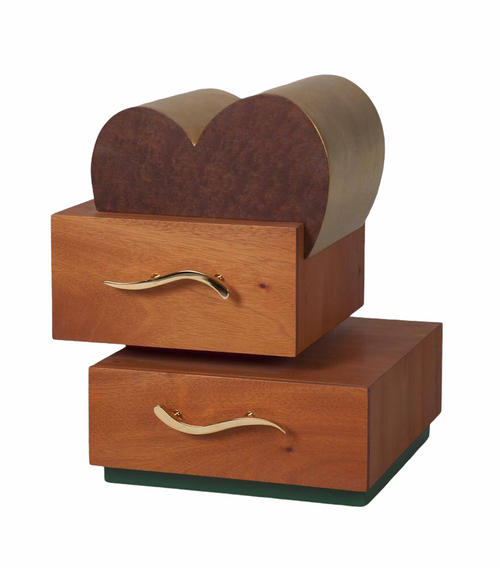 Heart Topper Jewelry Box