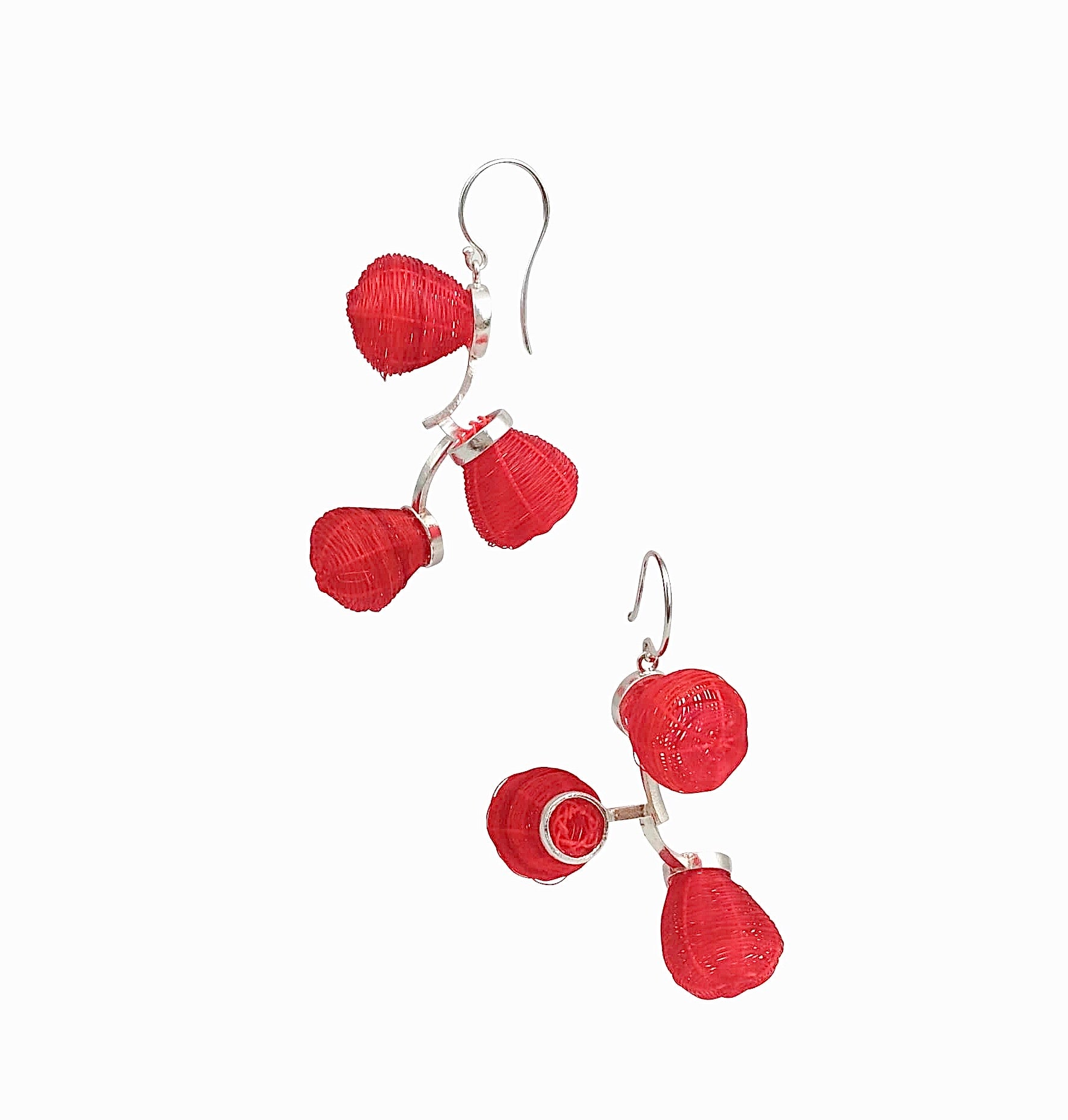 Red Globo Earring