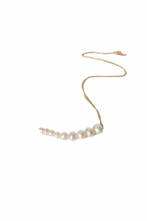 Pearl Pea Necklace