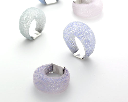 Dyed Nylon Ring - Lireille