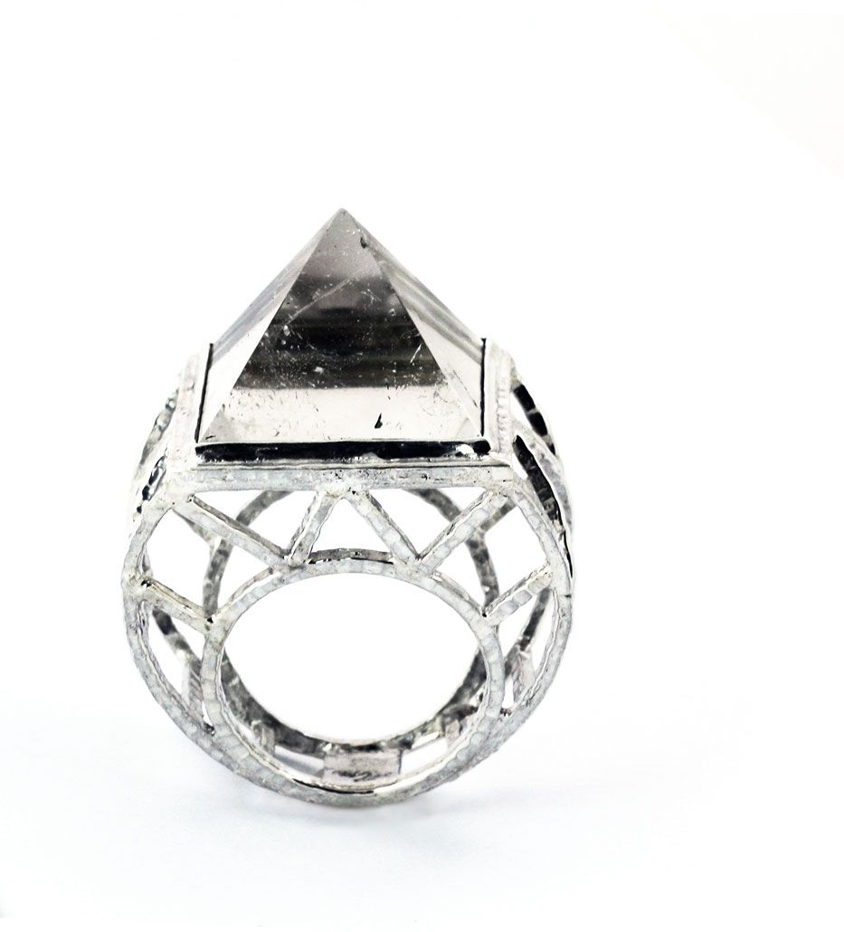 Sky Temple Crystal Ring