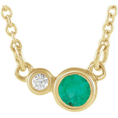 24k Gold Chalcedony Eye Necklace