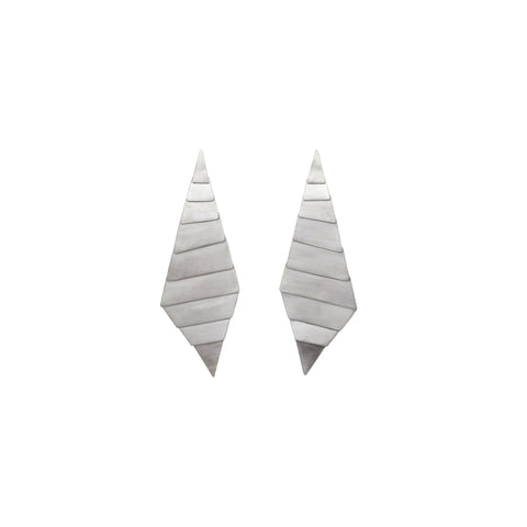 Leaf Geometric Earrings