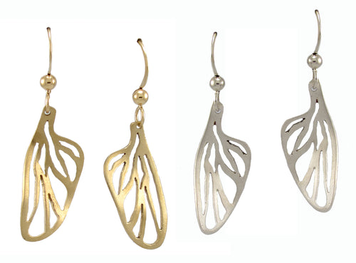 Cicada Wing Earrings - Lireille