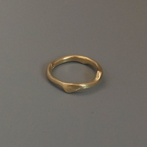 14kt Yellow Gold Twig Ring - Lireille