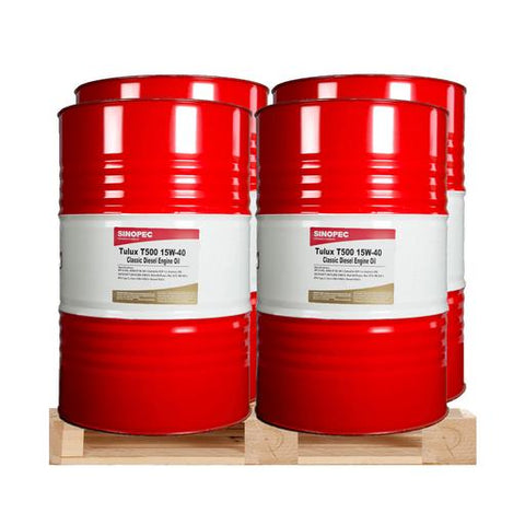 $499.63 Each - 15W40 T500 Classic Diesel Engine Oil - (4) 55 Gallon Drums