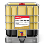 $2,618.50 15W40 - T700 Synthetic Diesel Engine Oil - IBC Tote