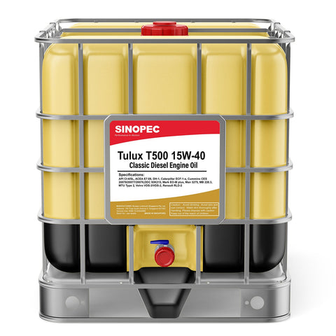 $2,144.99 15W40 T500 Classic Diesel Engine Oil - 275 Gallon IBC Tote