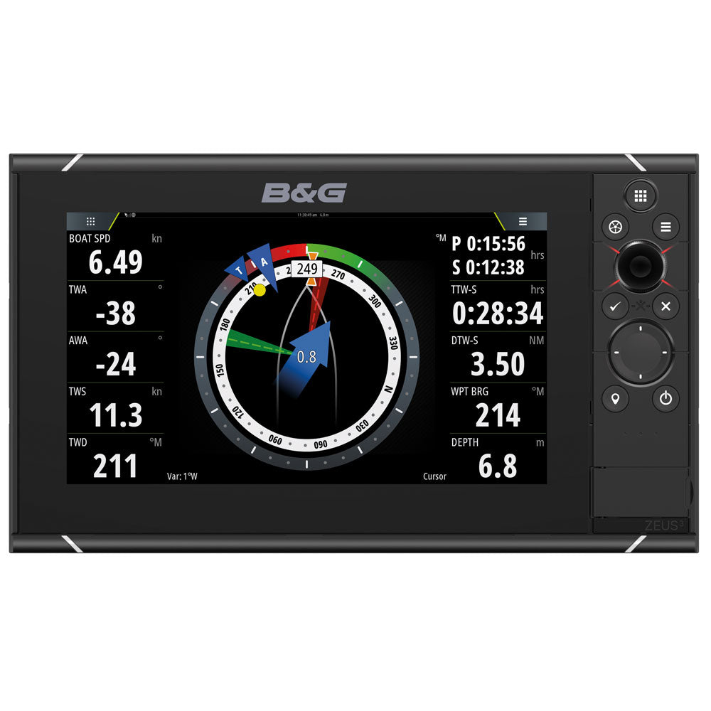"B&G - Zeus³- 9"" Multi Function Display"