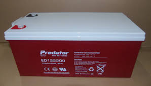AGM Deep Cycle Predator ED122200 (Buyer to pick up or contact us for shipping options)