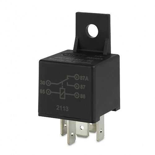 Hella 12V 5 Pin Change-over Mini Relay - 30/20A