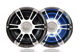 "Fusion 8.8"" 330 WATT Coaxial  Marine Speakers  (pair)"
