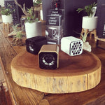 Alderwood Eros Cube Speaker  (black, white or wood finish) (incl hardware) Price per speaker