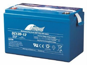 Fullriver FRDC120-12 Battery (Buyer Must Pick Up or Call to Discuss Shipping)