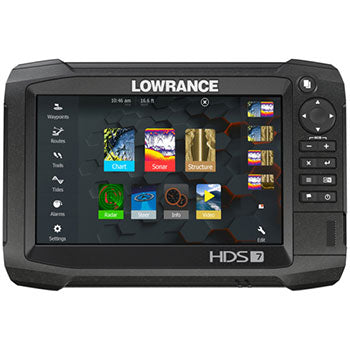 Lowrance - HDS-7 Carbon Multi Function Display/Transducer Bundle