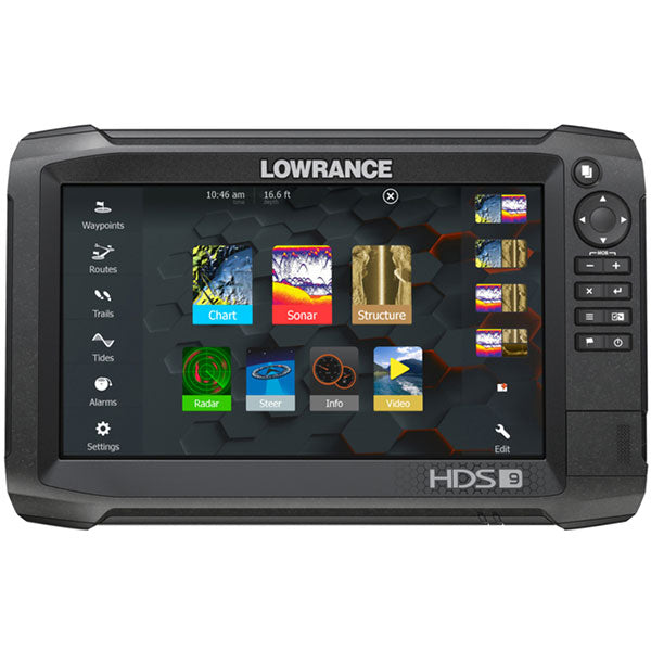 Lowrance - HDS-9 Carbon Multi Function Display/Transducer Bundle