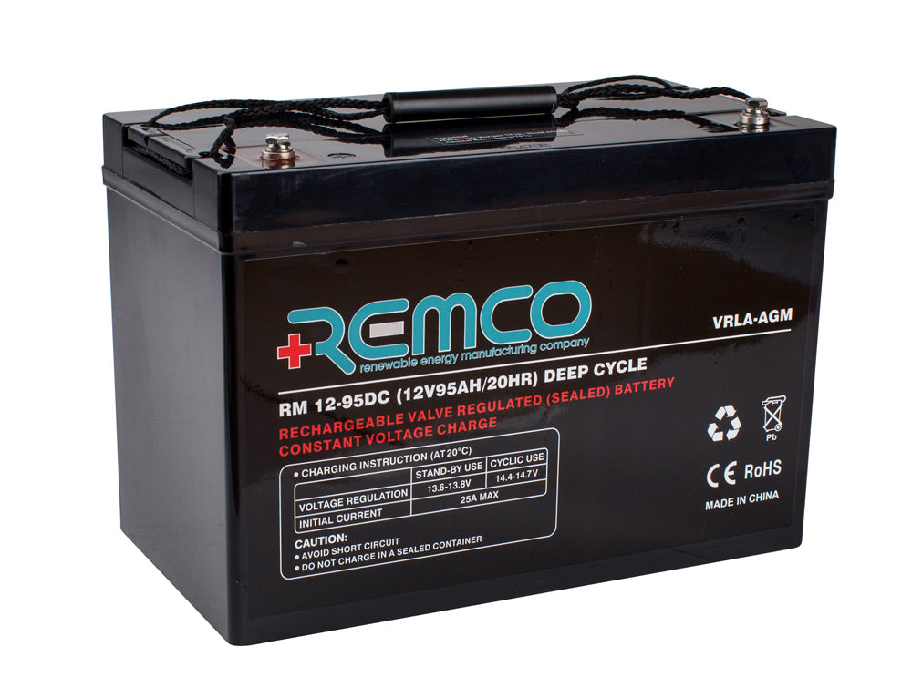 RM12-95DC AGM Deepcycle Battery (Buyer Must Pick Up or Call to Discuss Shipping)