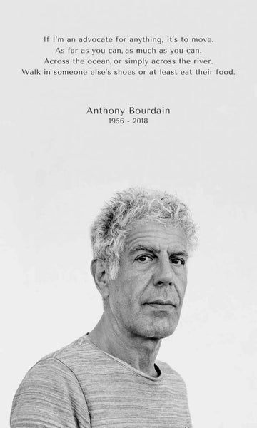 16 Most Inspiring Anthony Bourdain Quotes