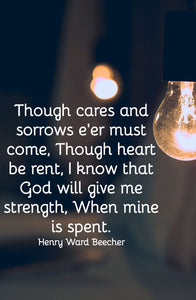 Lord Give Me Strength Quotes