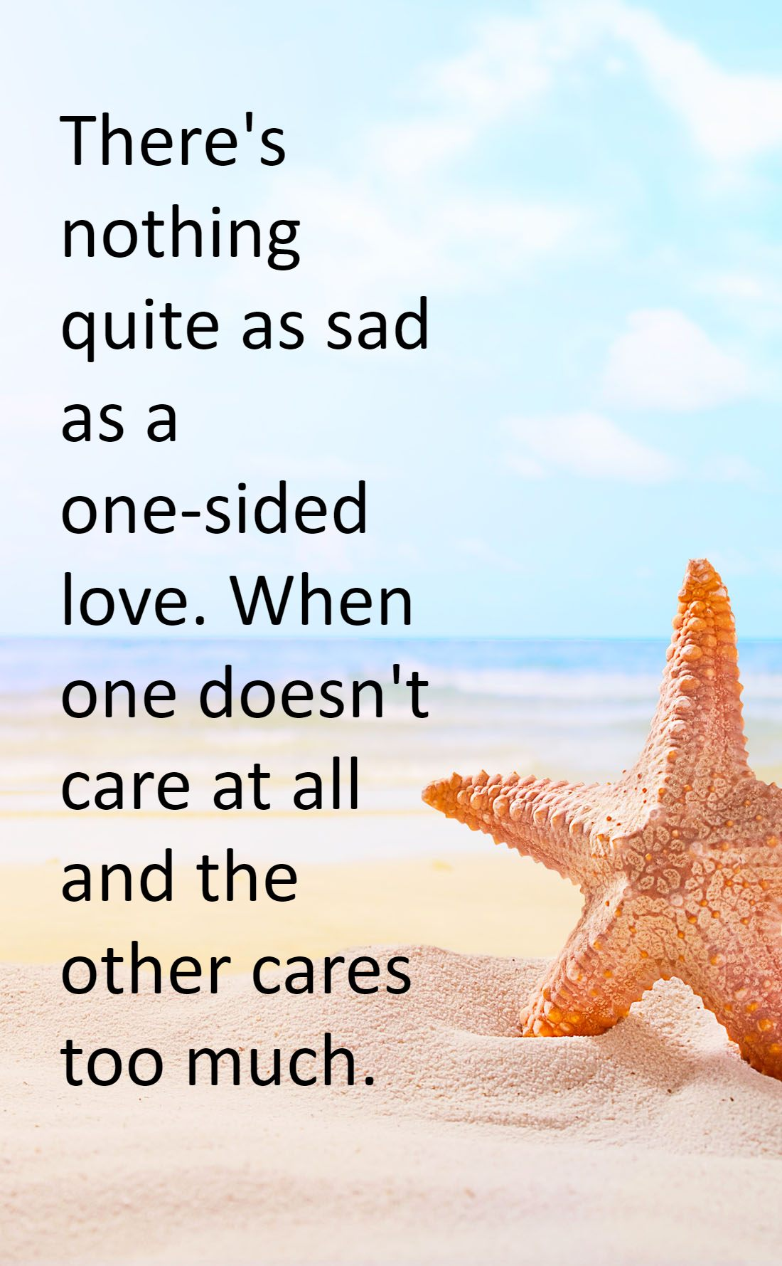 One Sided Relationship Quotes