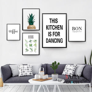 Archi Kitchen Quotes Typography Posters - Premium Home Interiors by Archipelago