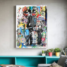 Follow Your Dreams Street Wall graffiti wall art canvas poster