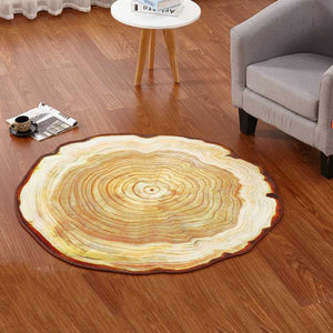 Archi Antique Wood Tree Rug for Living Room