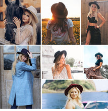 Australian Wool Fashion Hat for Women
