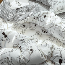 Cute Cotton Lining Quilt cover and sheet